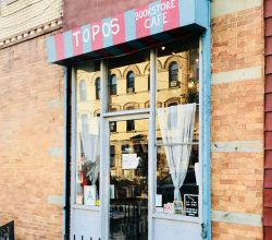 Topos Bookstore Cafe in Ridgewood