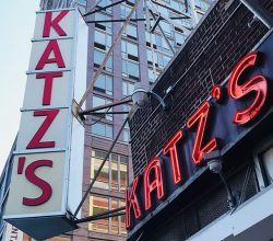 Katz's Delicatessen in Lower East Side