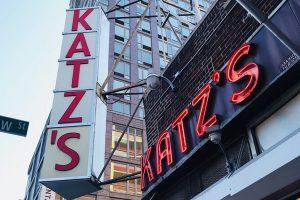 Katz's Delicatessen in Lower East Side