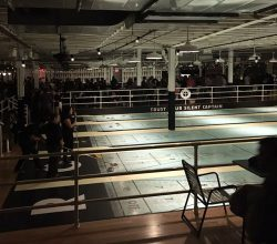 The Royal Palms Shuffleboard Club in Gowanus