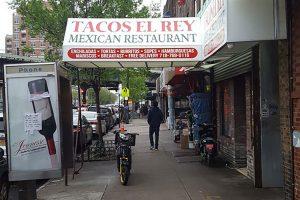 Tacos El Rey in Brighton Beach
