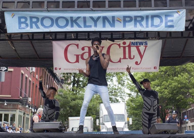 Performance at Brooklyn Pride